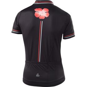Löffler Hotbond FZ Bike Trikot Damen schwarz/koralle